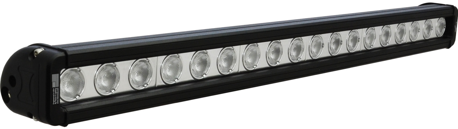 "24"" XMITTER LOW PROFILE BLACK 18 3W LED'S 40ç WIDE"