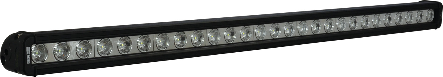 "35"" XMITTER LOW PROFILE BLACK 27 3W LED'S 10ç NARROW"