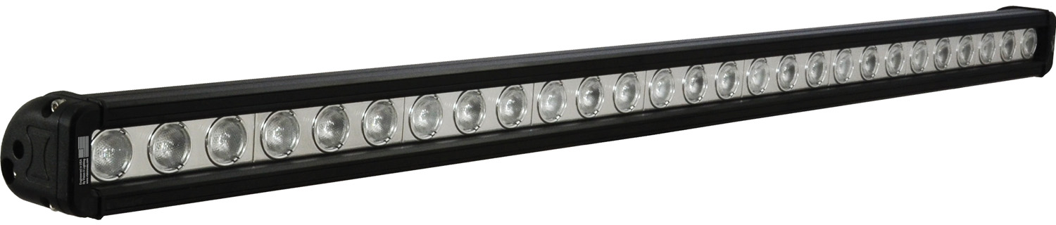 "35"" XMITTER LOW PROFILE BLACK 27 3W LED'S 40? WIDE"