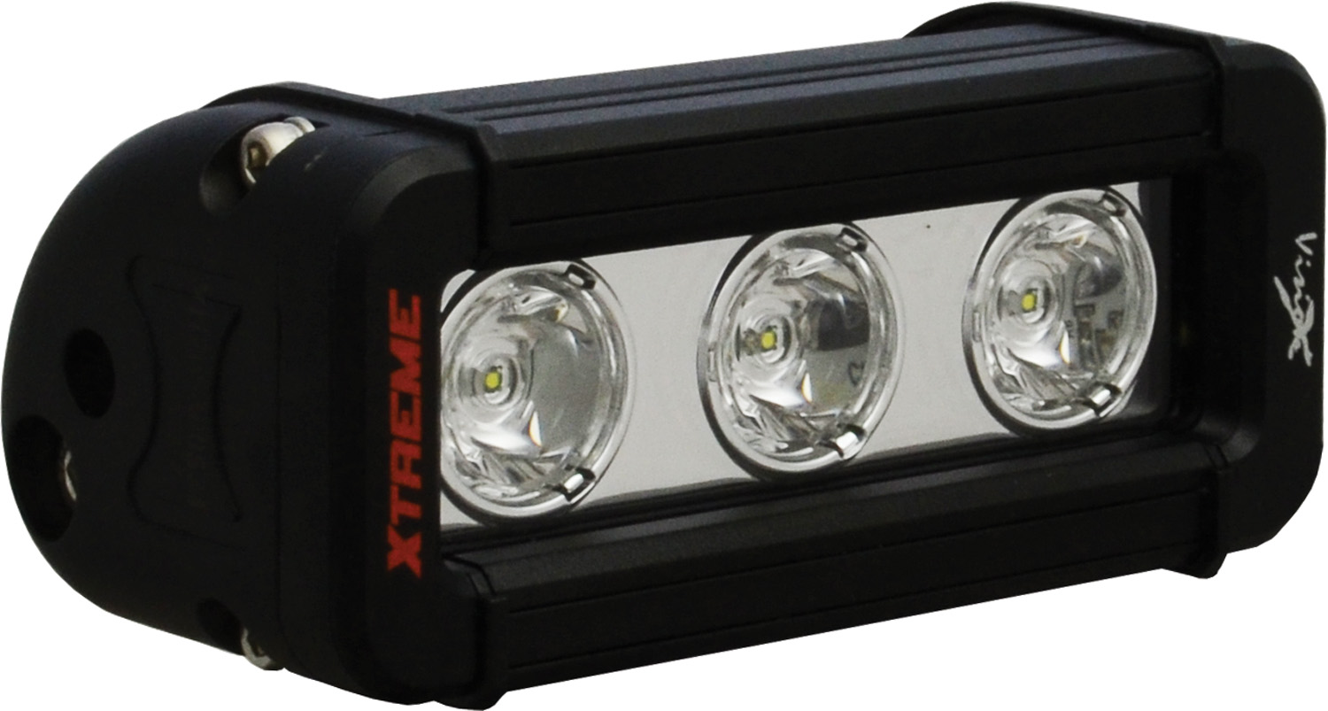 "5"" XMITTER LOW PROFILE XTREME BLACK 3 5W LED'S 10? NARROW"