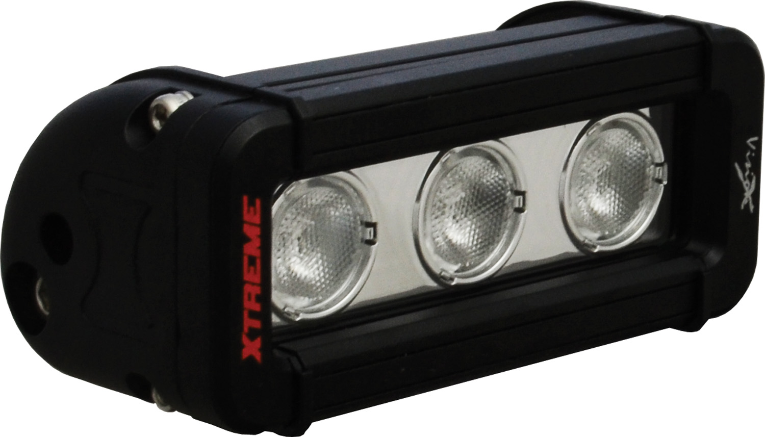 "5"" XMITTER LOW PROFILE XTREME BLACK 3 5W LED'S 40? WIDE"