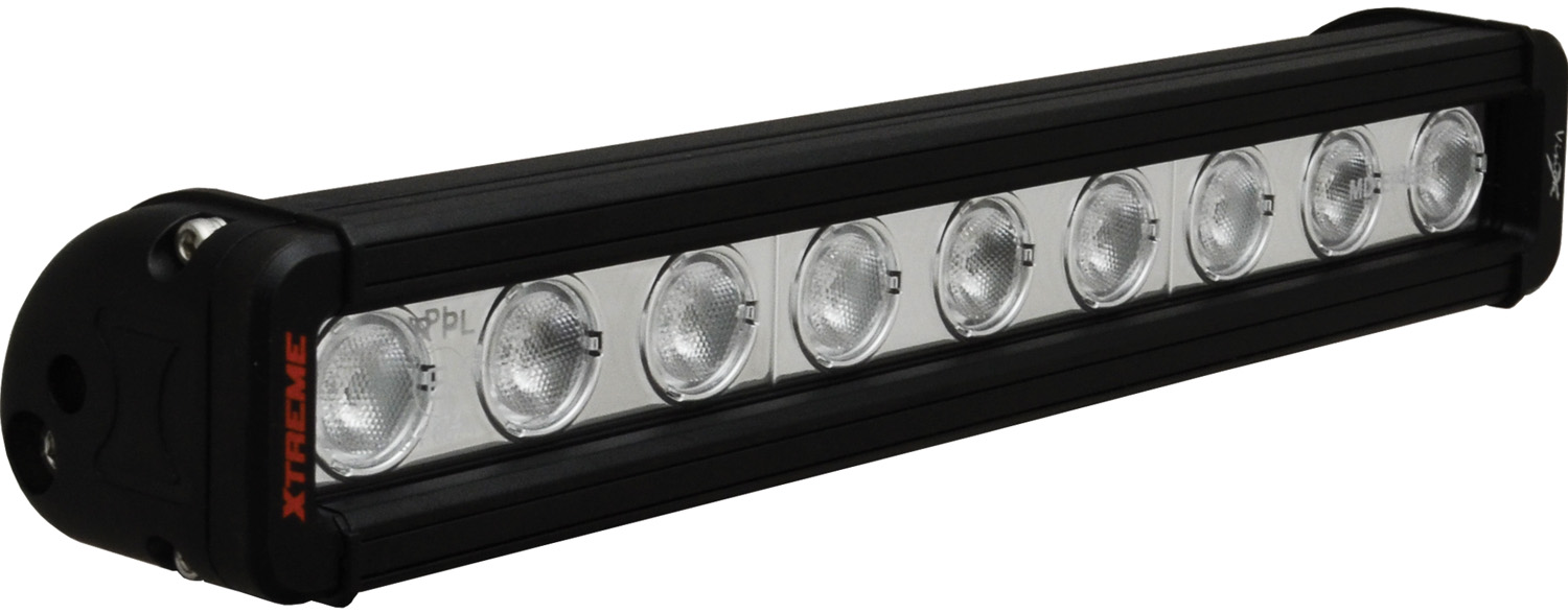 "12"" XMITTER LOW PROFILE XTREME BLACK 9 5W LED'S 40ç WIDE"
