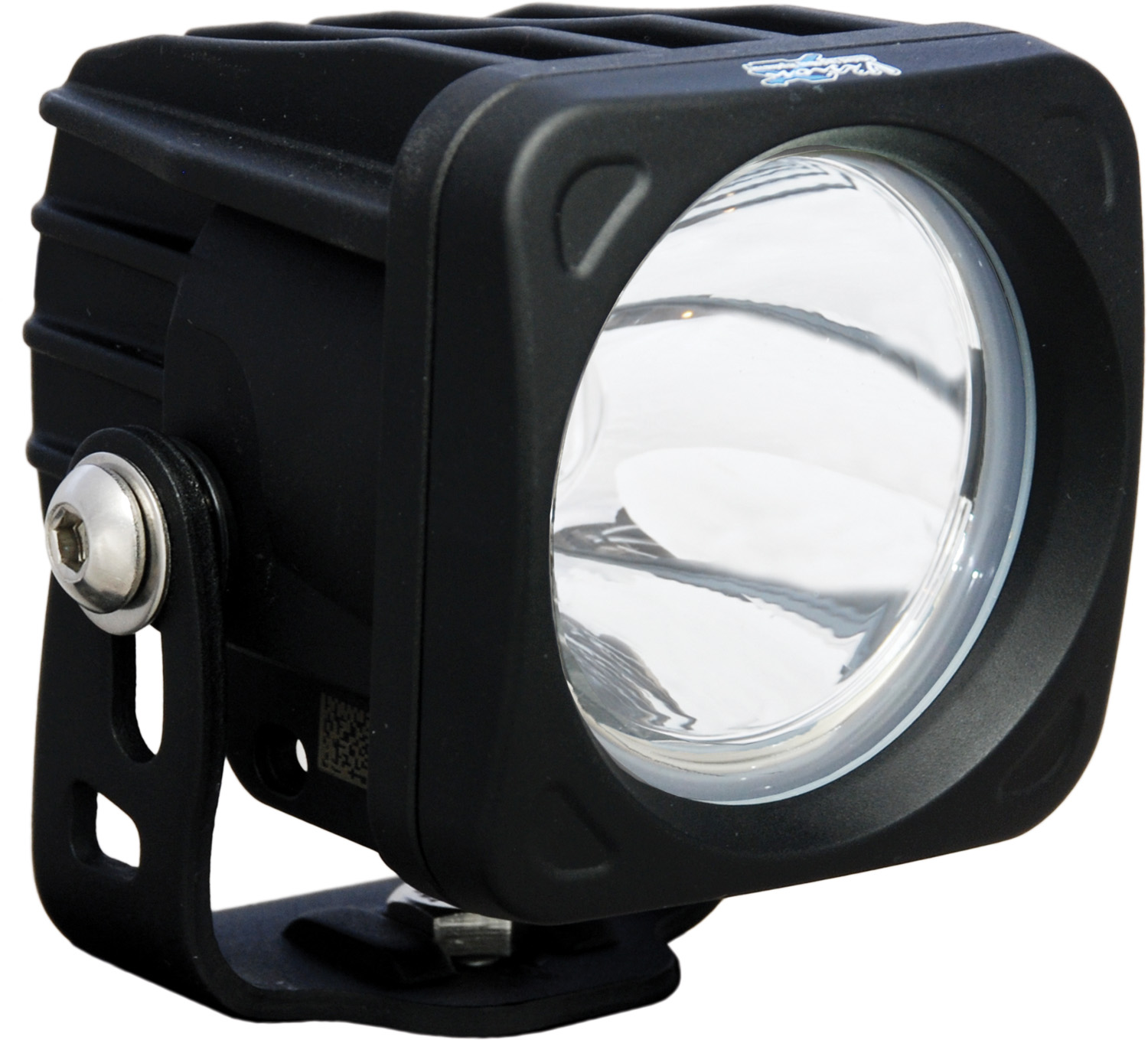 OPTIMUS SQUARE BLACK 1 10W LED 10° NARROW