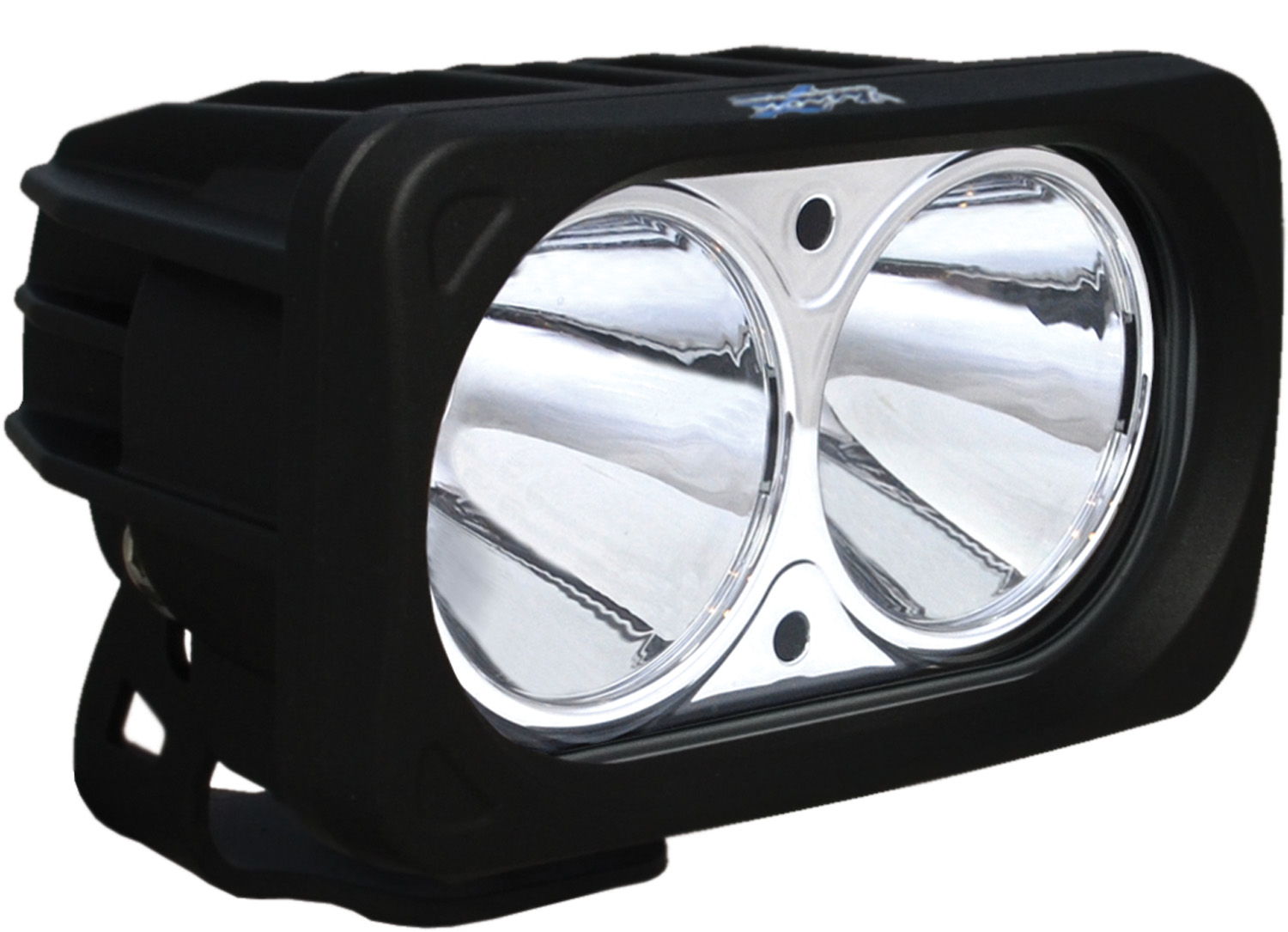 OPTIMUS SQUARE BLACK 2 10W LEDS 10° NARROW