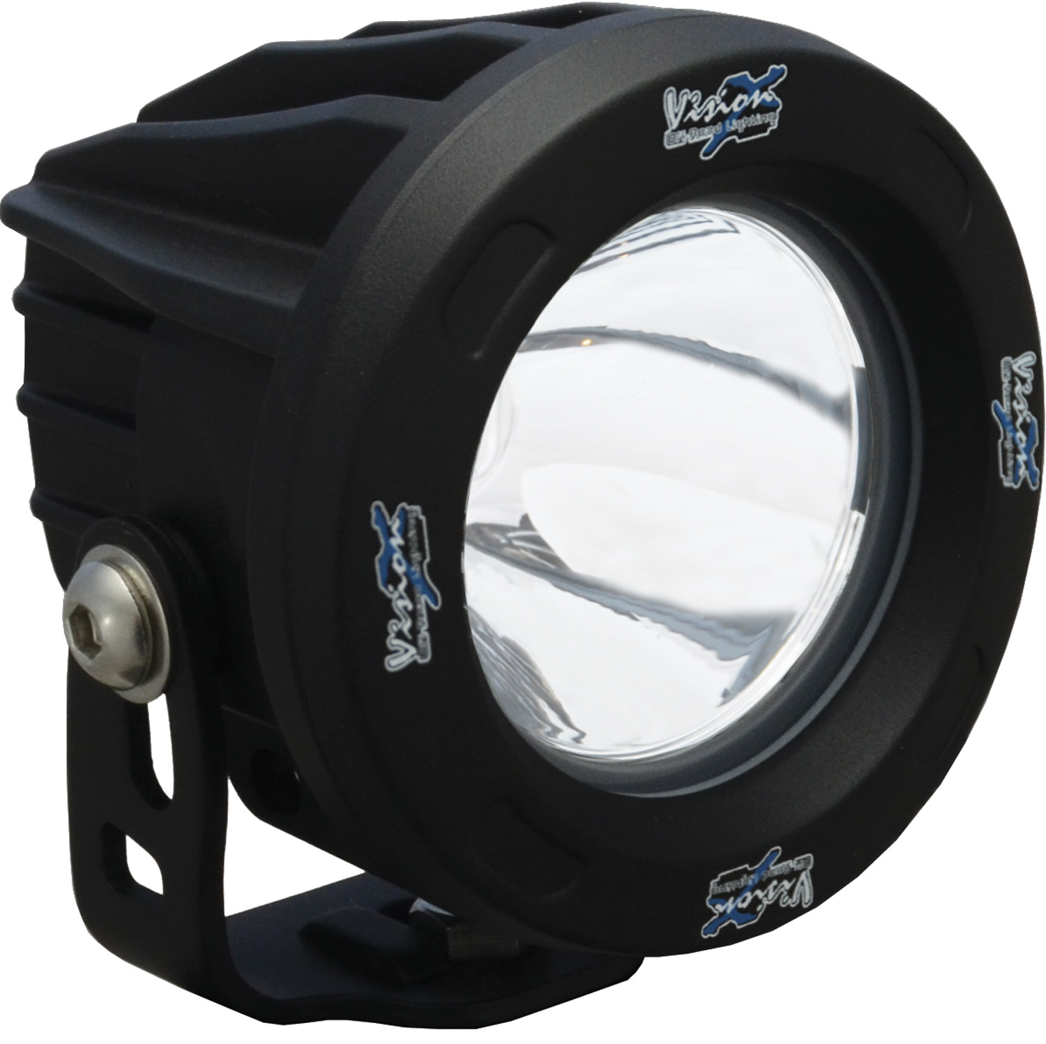 OPTIMUS ROUND BLACK 1 10W LED 10? NARROW