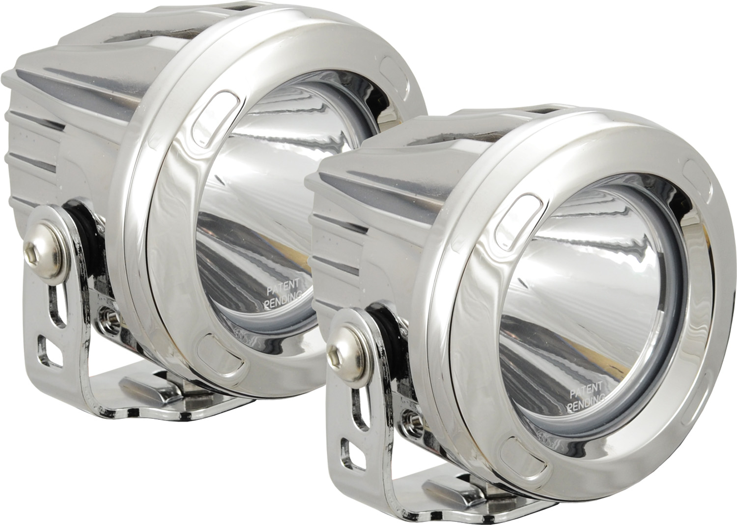 OPTIMUS ROUND CHROME 1 10W LED 10? NARROW KIT OF 2 LIGHTS