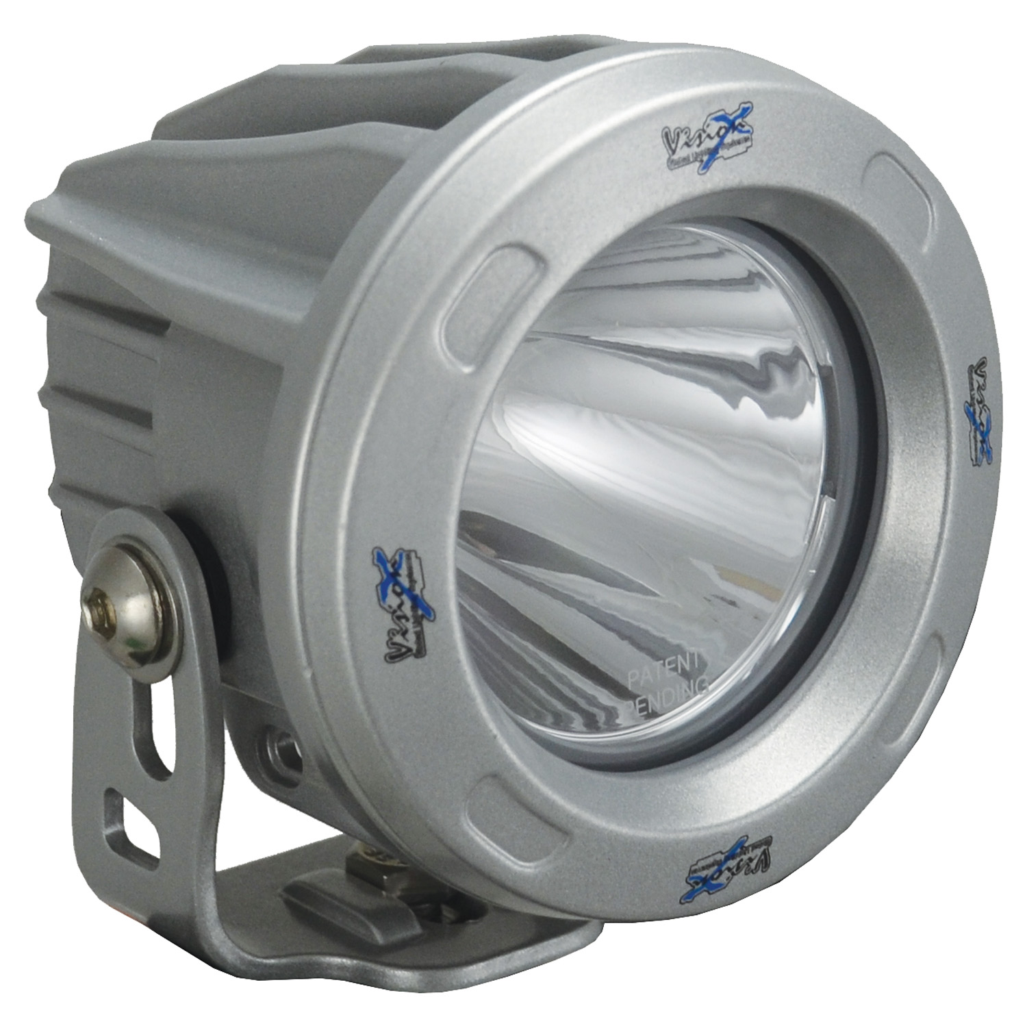 OPTIMUS ROUND SILVER 1 10W LED 10? NARROW