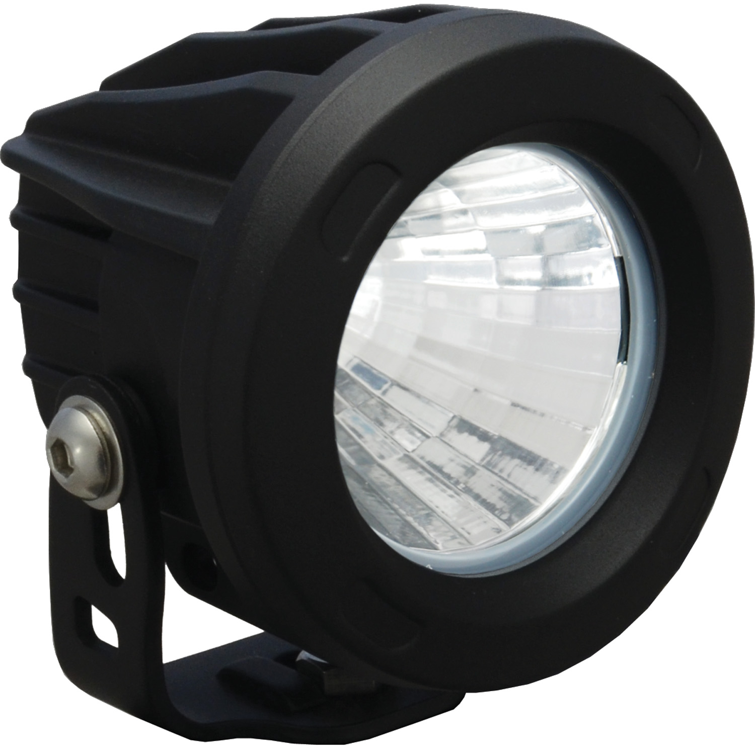 OPTIMUS ROUND BLACK 1 10W LED 20? MEDIUM