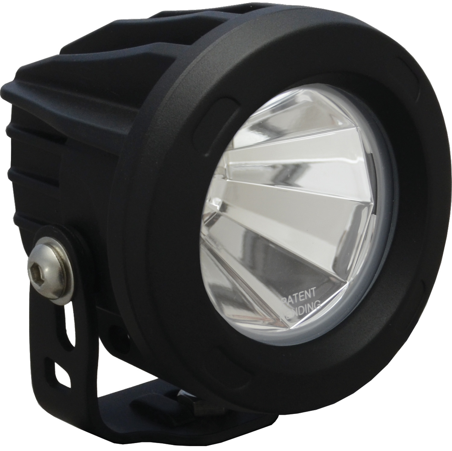 OPTIMUS ROUND BLACK 1 10W LED 60? FLOOD