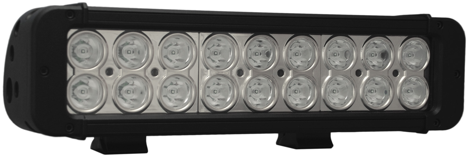 "11"" XMITTER PRIME LED BAR BLACK EIGHTEEN 3-WATT LED'S 40 DEGREE WIDE BEAM"