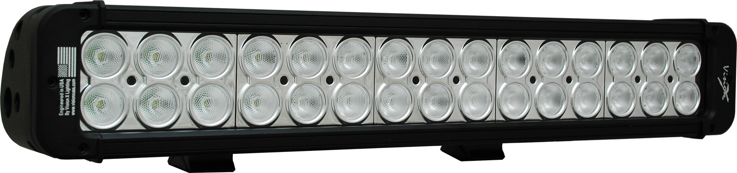 "18"" XMITTER PRIME LED BAR BLACK THIRTY 3-WATT LED'S 40 DEGREE WIDE BEAM"