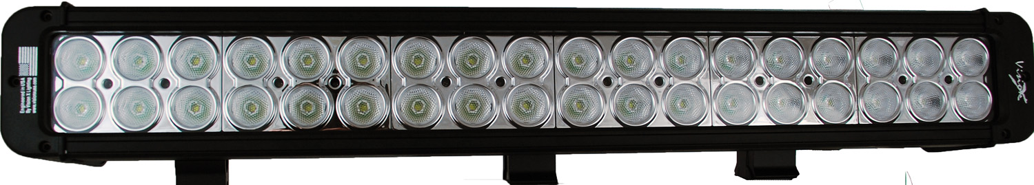 "21"" XMITTER PRIME LED BAR BLACK THIRTY SIX 3-WATT LED'S 40 DEGREE WIDE BEAM"