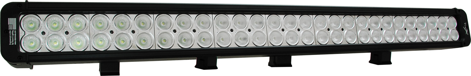 "30"" XMITTER PRIME LED BAR BLACK FIGHTY FOUR 3-WATT LED'S 40 DEGREE WIDE BEAM"