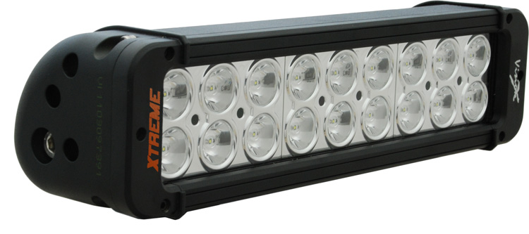 "11"" Xmitter Prime Xtreme LED Bar Black Eighteen 5-Watt LED's 10 Degree Narrow Beam"
