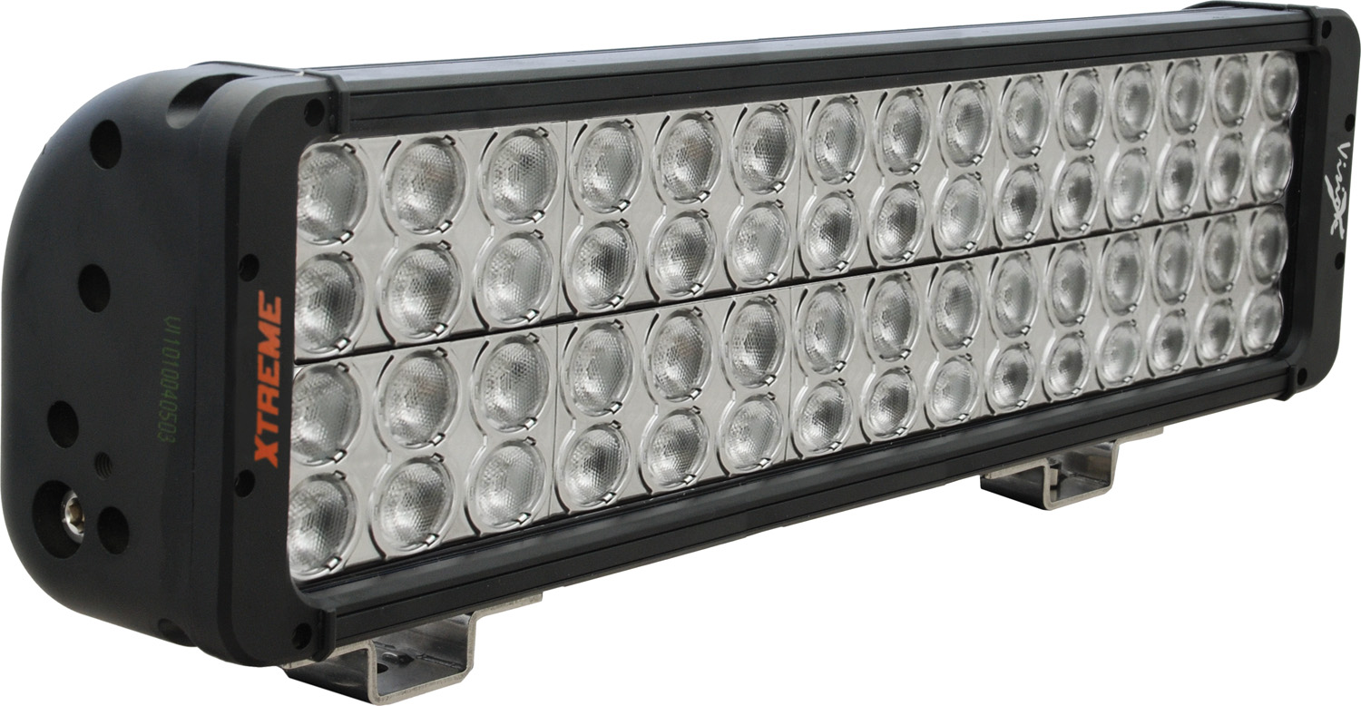 "18"" XMITTER PRIME XTREME LED BAR BLACK 60 5W LED'S 40ç WIDE - Click Image to Close"