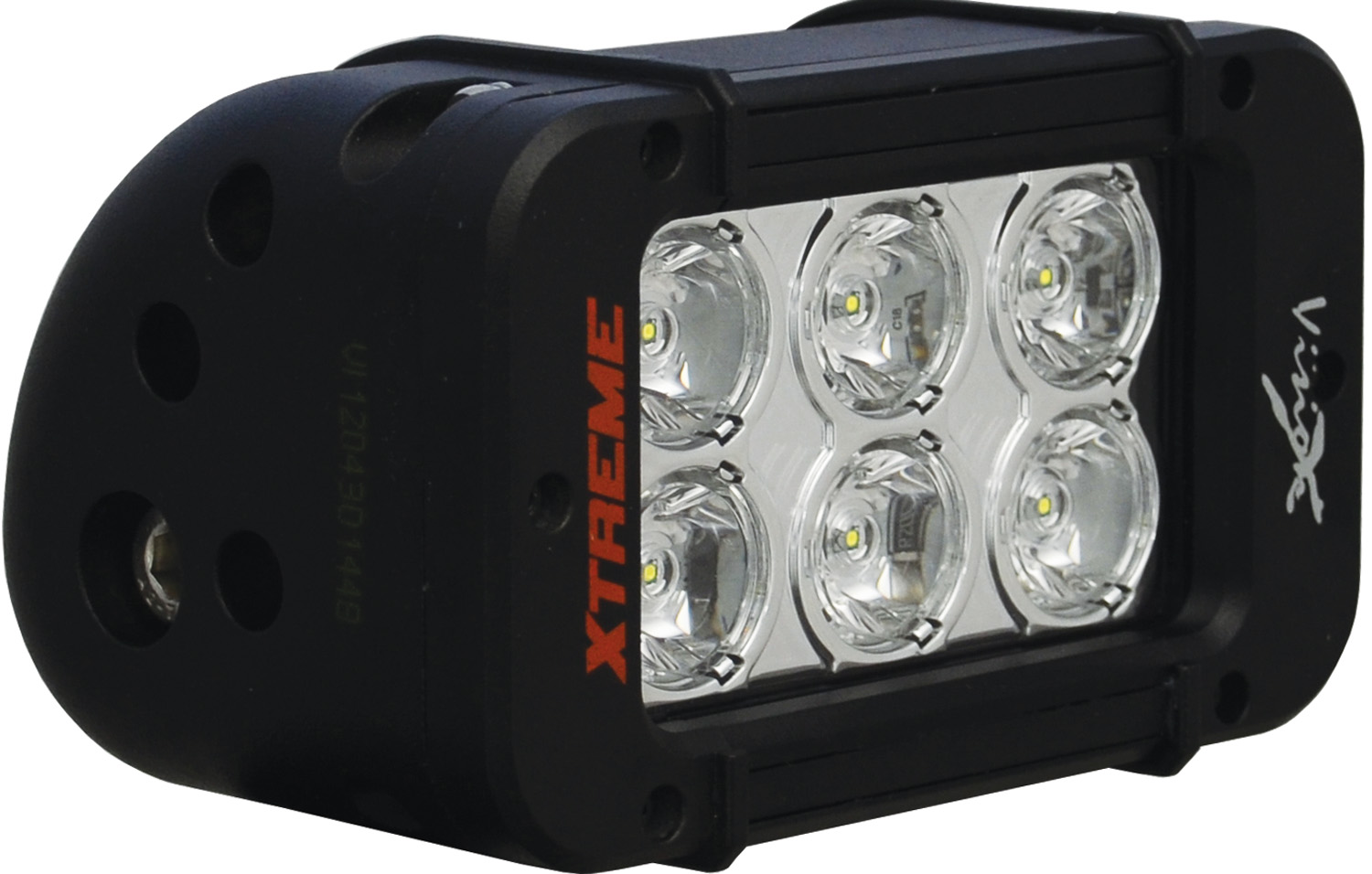 "5"" XMITTER PRIME XTREME LED BAR BLACK 6 5W LED'S 40ç WIDE"