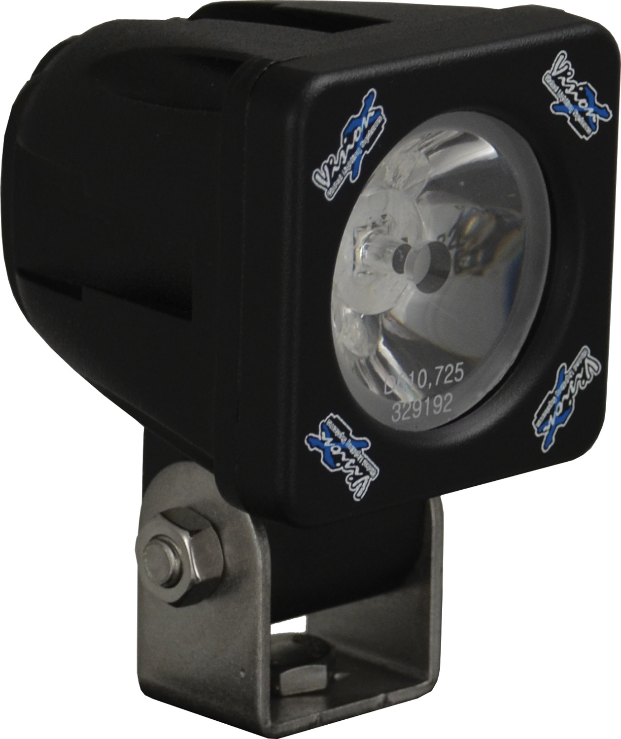 "Vision X 2"" SOLSTICE SOLO BLACK 10-WATT LED POD 35° WIDE BEAM"