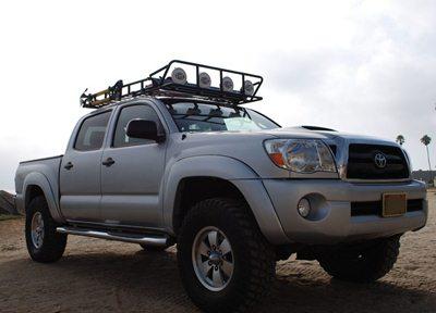 Baja Rack For Tacoma With Shark Fin Antenna