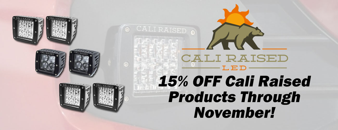 Cali Raised July Sale is on Now!