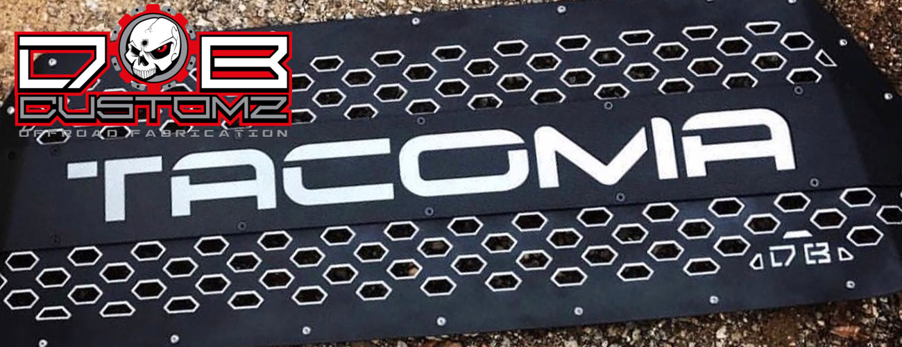 10% OFF DB Customz Tacoma Grilles + FREE SHIPPING!