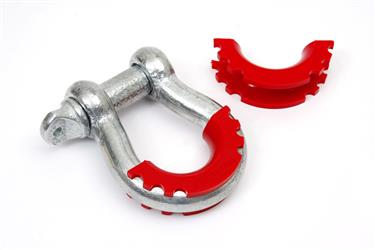 Daystar Snap-on D-Ring Isolator (Set of 2) - Red