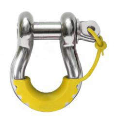 Daystar Snap-on D-Ring Isolator (Set of 2) - Yellow