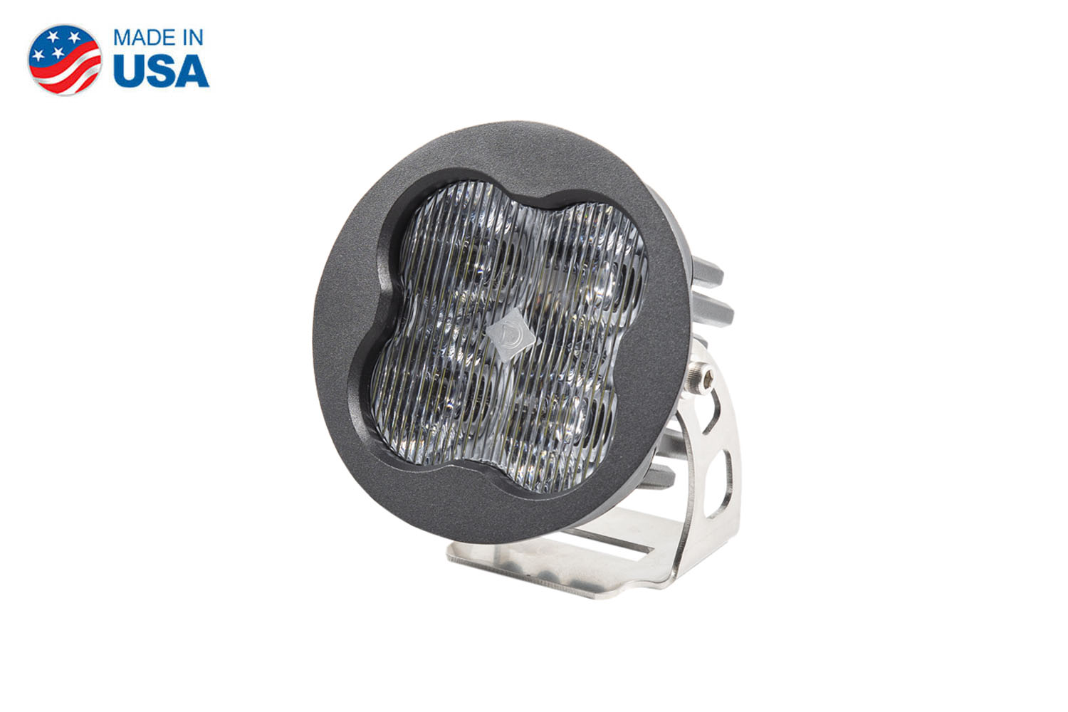 Diode Dynamics Worklight SS3 Pro White SAE Fog Round (single)