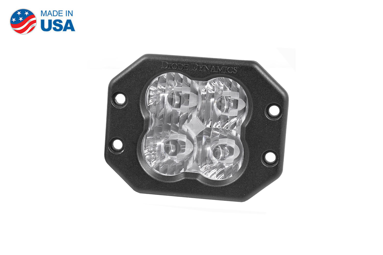 Diode Dynamics Worklight SS3 Sport White SAE Driving Flush (single)