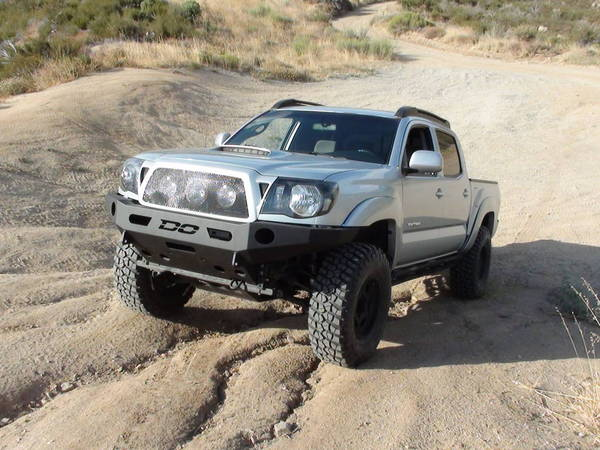 DEMELLO OFF-ROAD TACOMA FLAT TOP FRONT BUMPER 05-11