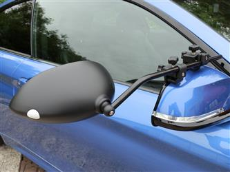 Milenco America Exterior Towing Mirrors; Clip-on Manual w/o Turn Signal Indicator (Set of 2)