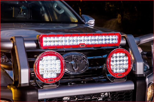 "ARB Intensity 20"" LED Spot Bar w/2.3"" Mount Kit"