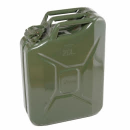 New Nato 5 Gallon O.D. Jerry Can (4 Pk / 1 Case)