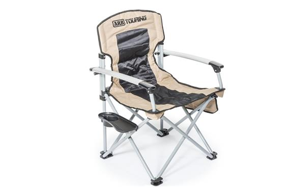 Arb Camping Chair (300lb capacity) - Black & Tan
