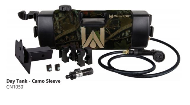 WaterPORT 4 Gallon Day Tank - Camo Sleeve - 3 Mounting Options (IN STOCK DEC 2018)