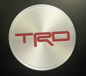 "TRD 17"" FORGED ALLOY WHEEL CENTER CAP"