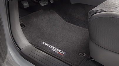 TRD PRO Carpet Floor Mats Double Cab TACOMA - 2016+