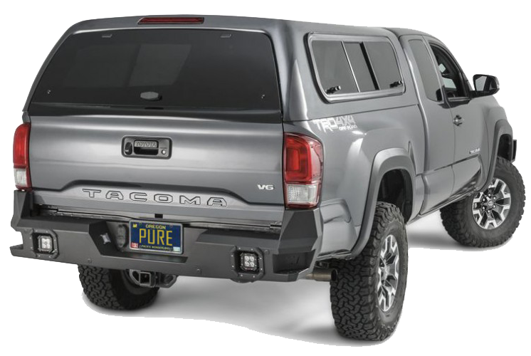 Warn Industries 2016 Toyota Tacoma Rear Bumper 98054