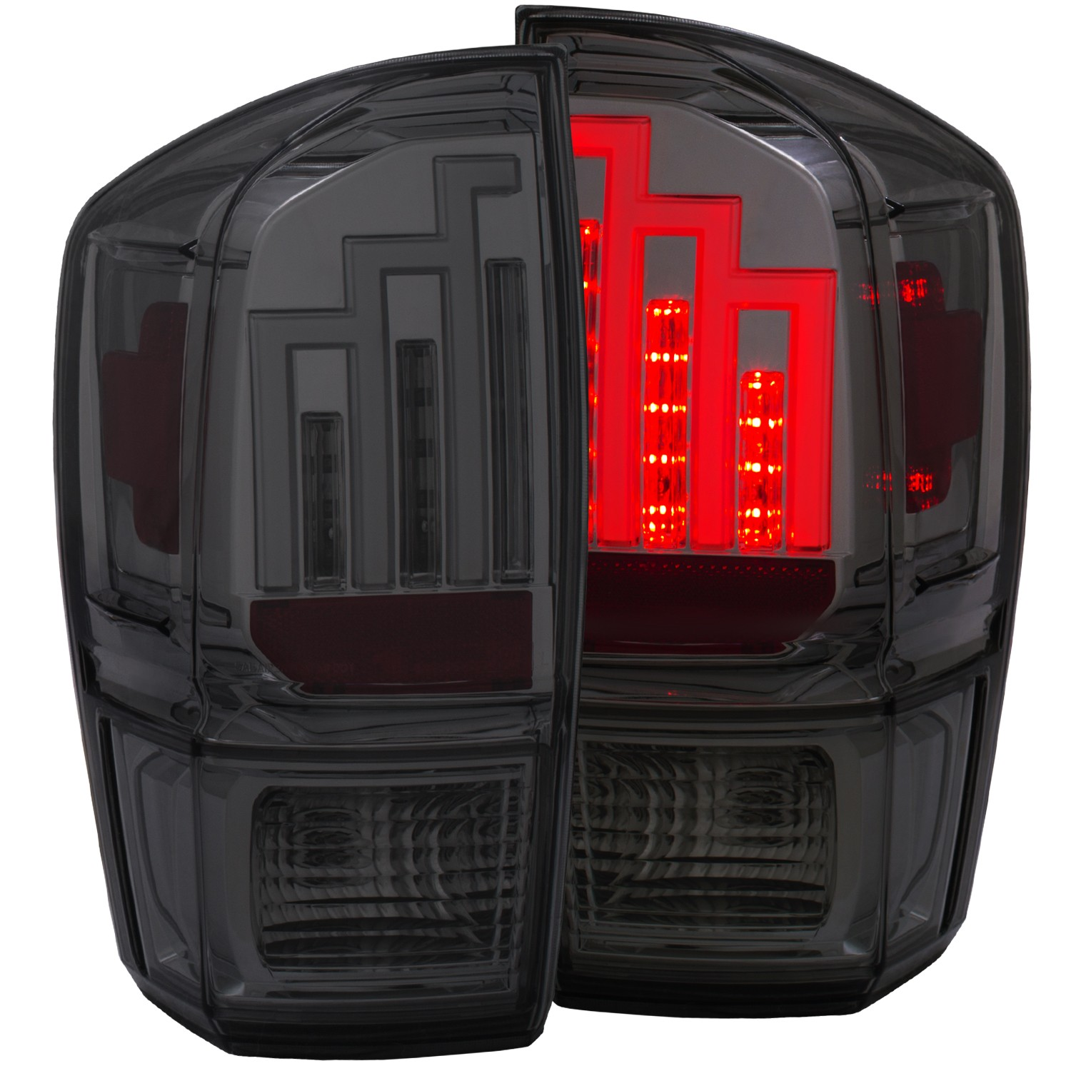 Anzo Tacoma LED Tail Light - Smoke (2016+}