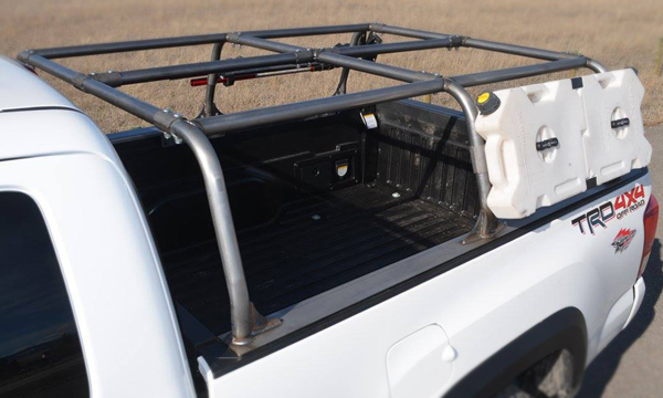 Tacoma APEX Pack Rack 2016+ (Long Bed, unpainted, unwelded)