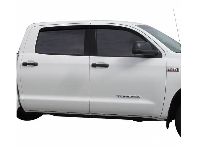 Window Visor Rain Guards Vent Shade For 2016-2020 Toyota Tacoma Double Cab 4Door
