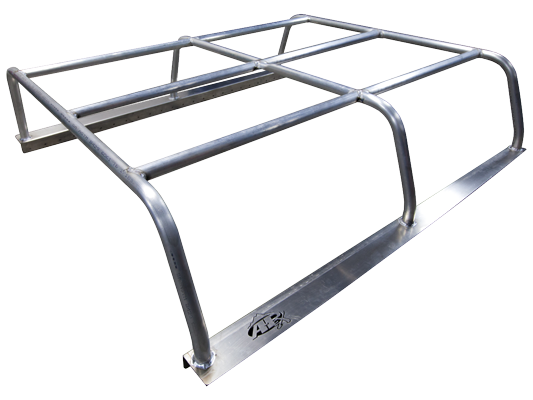 05+ Tacoma Weld-Together Pack Rack (Long Bed), Unpainted