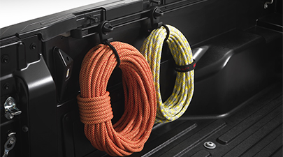 Tacoma Bed Mini Tie Downs with Hooks