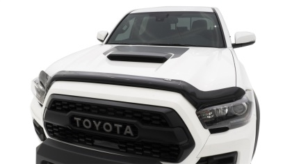 Auto Ventshade Tacoma Bug Shield Wrap-around Smoke Acrylic - 2016-2020 - Ships Free