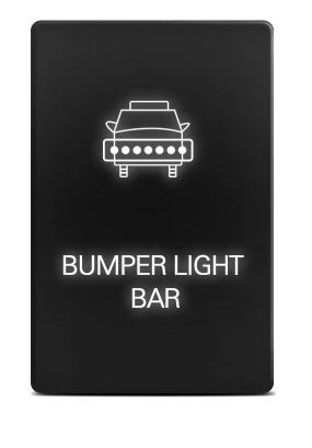 "Cali Raised Tacoma Small OEM Style ""Bumper Light Bar"" Switch - Ships Free"