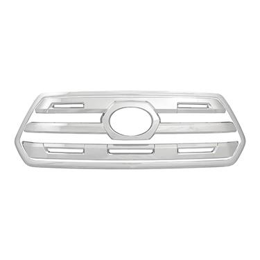 C2C Grille Insert Overlay (3 pc) Chrome Plated 2016-2017