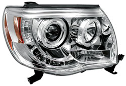 IPCW 05-11 Tacoma Projector Headlights With Chrome Rings