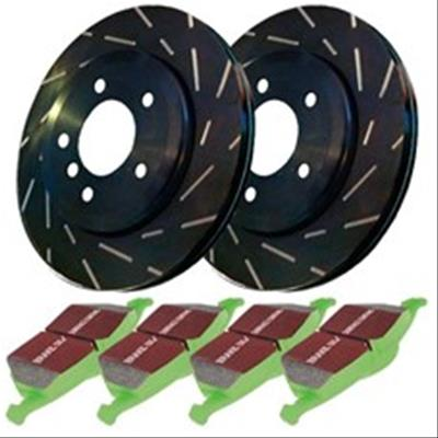 EBC Stage 3 Truck & SUV Disc Kits (Front) - 2016+ - Ships Free