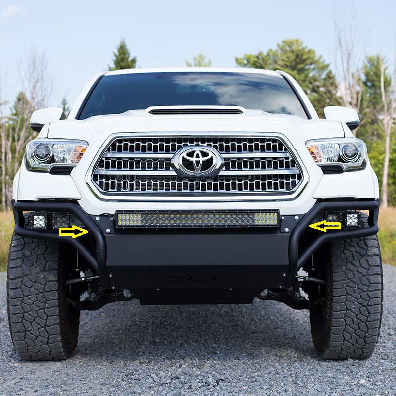 "MBRP Tacoma Light Bar Bracket - 28"" (BRACKETS ONLY)"