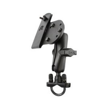 RAM Gun Holster Mount Black Powder Coated Marine Grade Aluminum