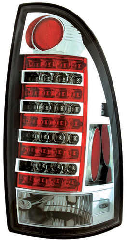 IPCW 05-11 Tacoma LED Tail Lamps - Crystal Clear